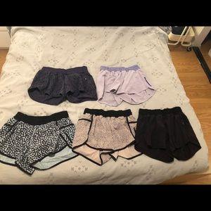 Lululemon shorts, comment to buy individually